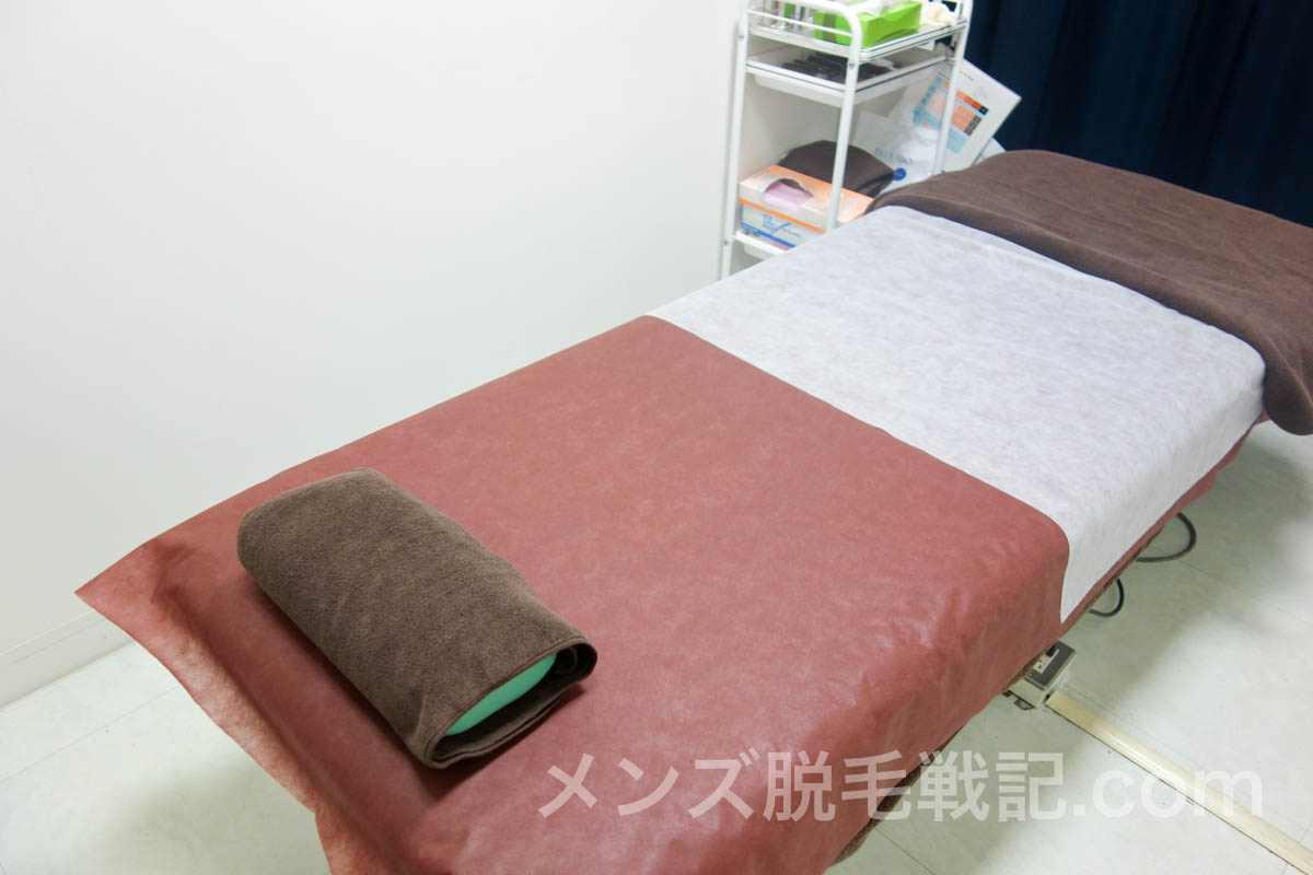 ゴリラクリニック新宿本院の施術室